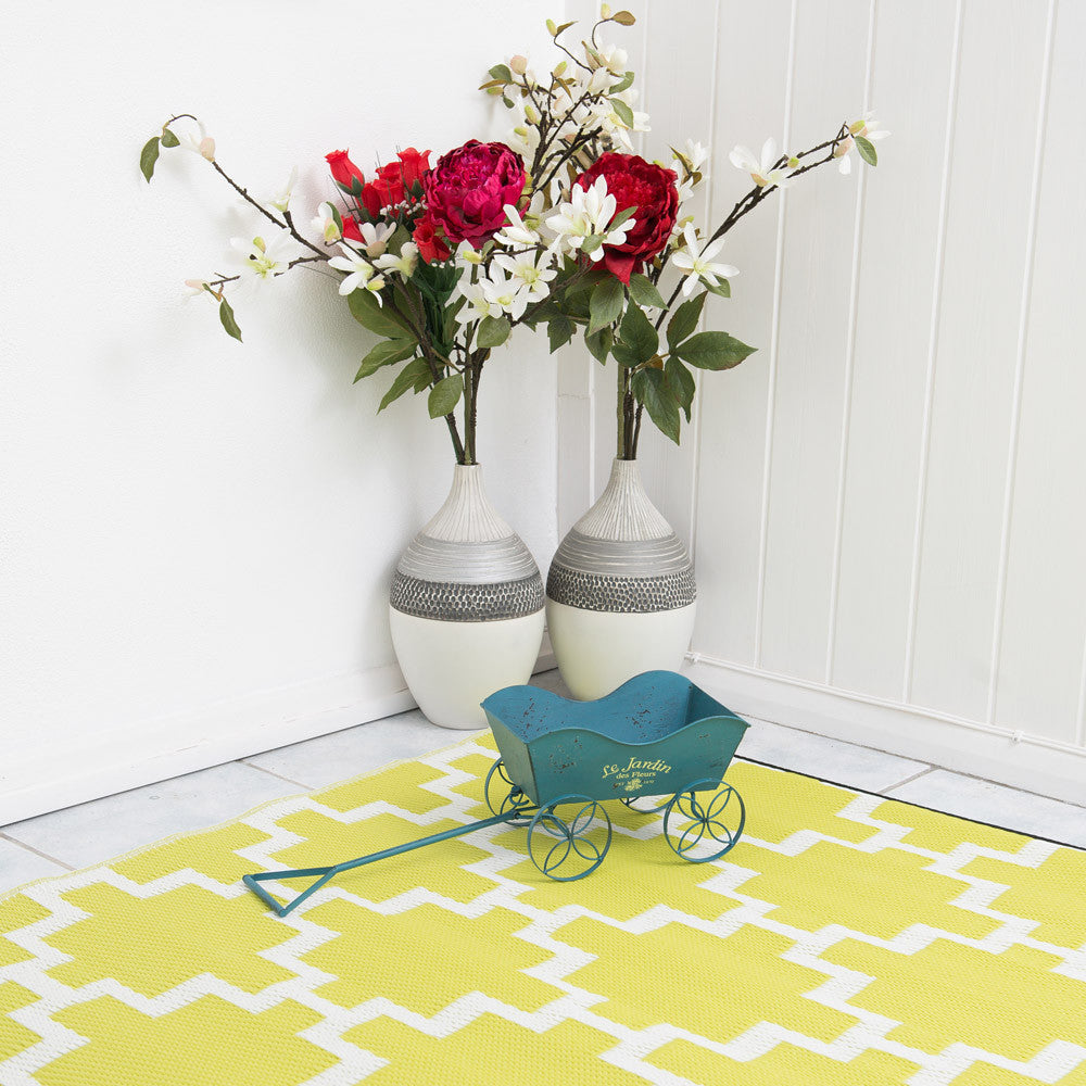 Solitude Celery Green Rug - greendecore.co.uk - 8