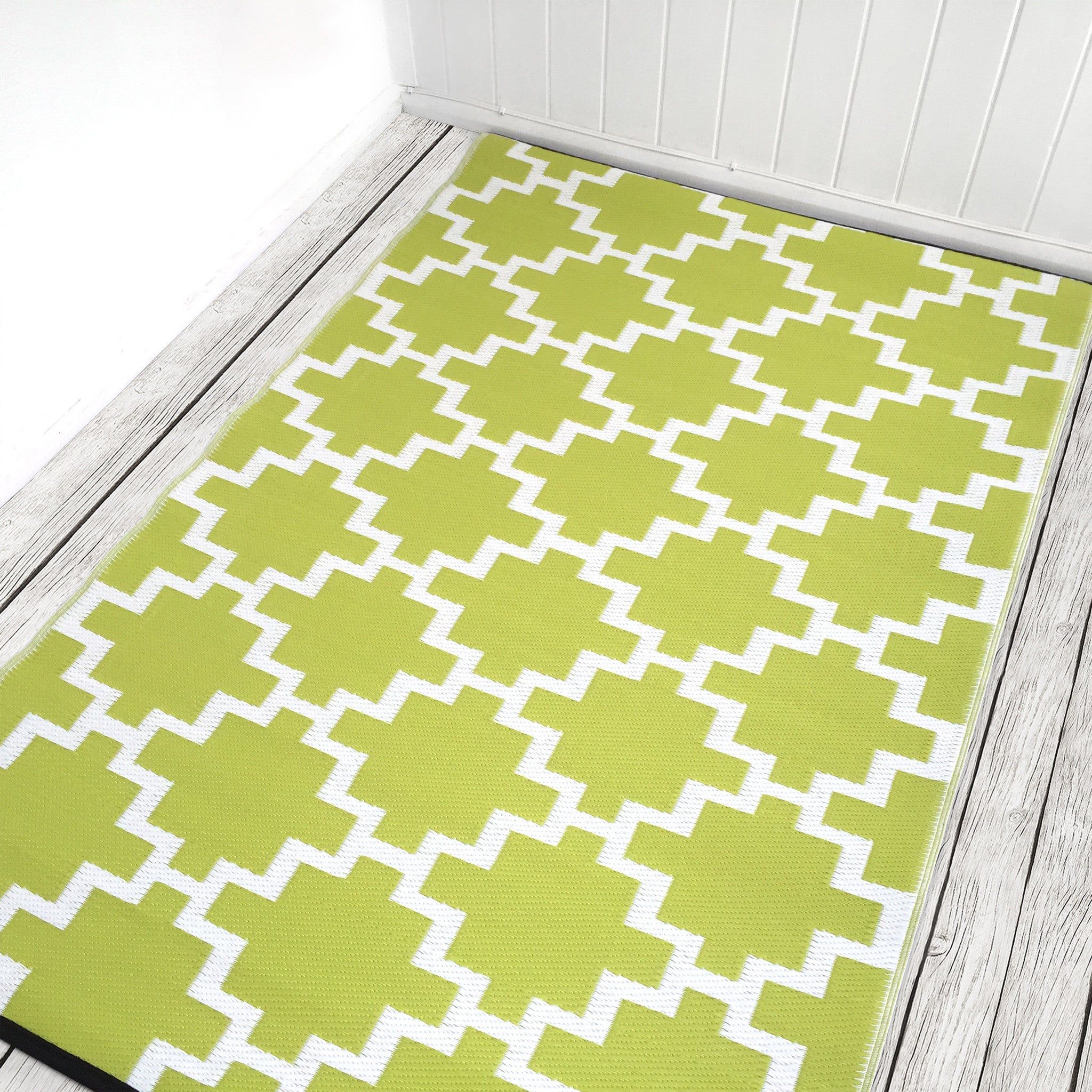 Solitude Celery Green Rug - greendecore.co.uk - 9