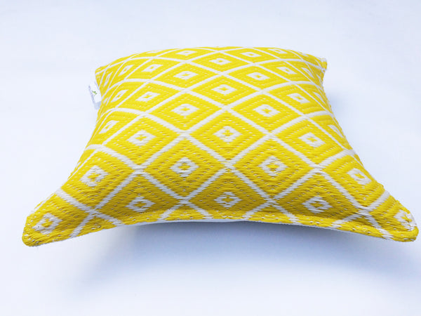 Arabian Nights Yellow Cushion - greendecore.co.uk - 3