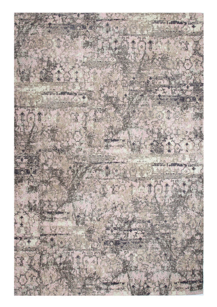 Insurgent Grey Peach Rug - greendecore.co.uk - 1