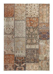 Surface Orange Beige Rug - greendecore.co.uk - 1