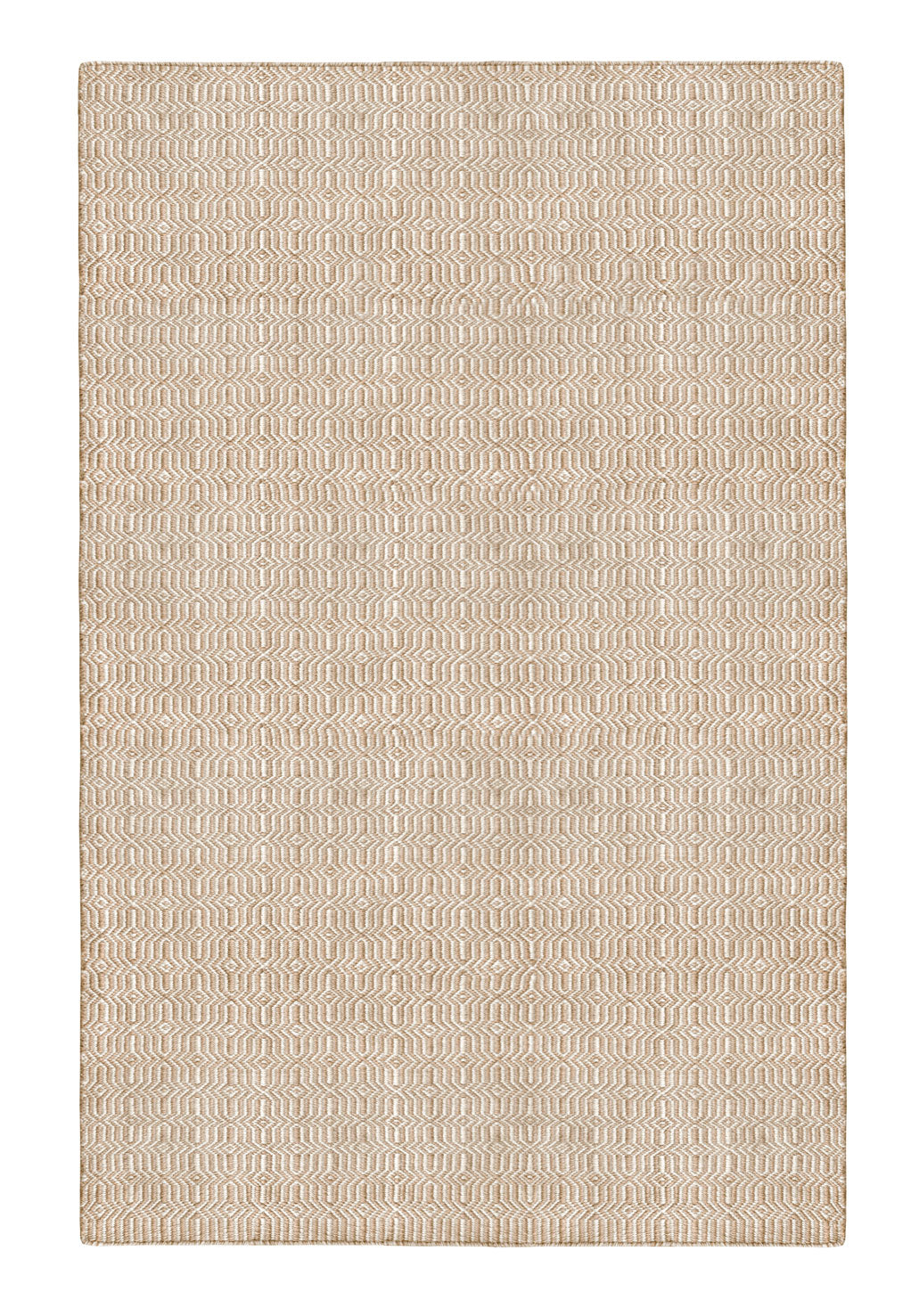 Viva Indoor Outdoor Recycled PET Rug (Beige/Light Cream)