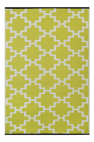 Solitude Celery Green Rug - greendecore.co.uk - 1