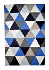 DP 42 Blue multicolour Rug