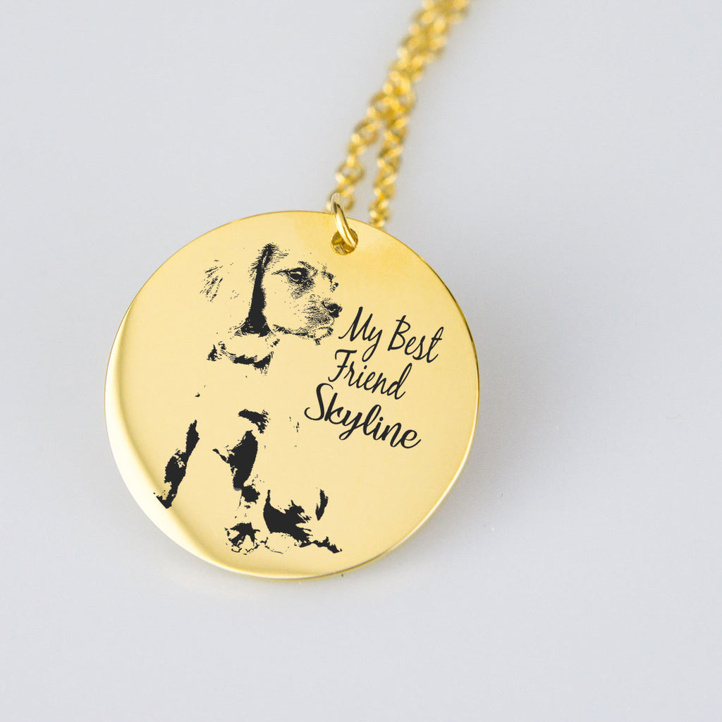 Personalized Necklace With Your Lovely Pet