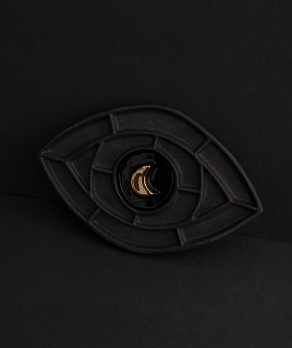 Mind's Eye Talisman Black + 22k Gold
