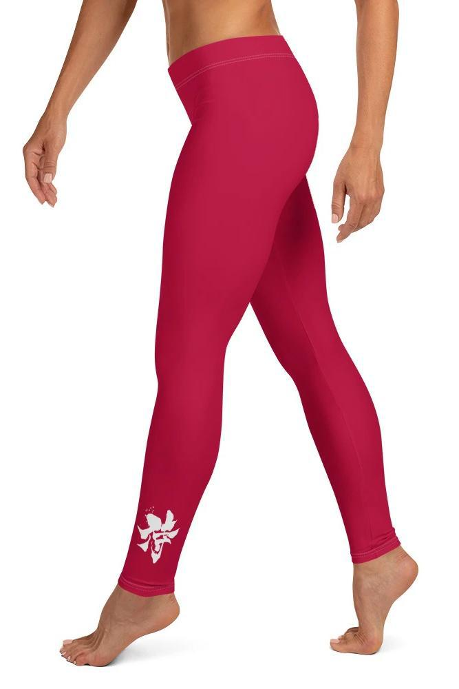 Legging - Rouge passion-leggings-Raise yourself