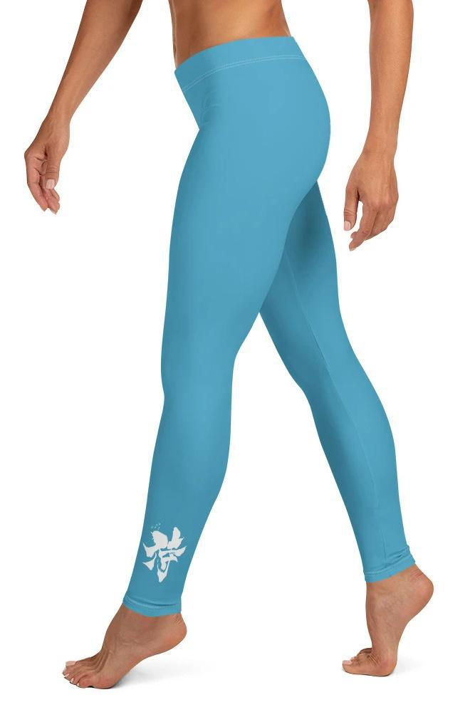 Legging - Bleu Emeraude-leggings-Raise yourself