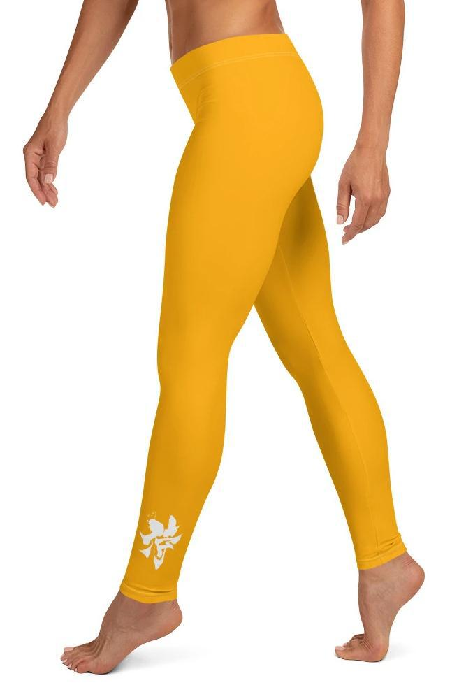 Legging - Jaune soleil-leggings-Raise yourself