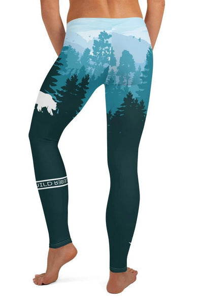 Leggings - Montagnes lointaines-leggings-Raise yourself