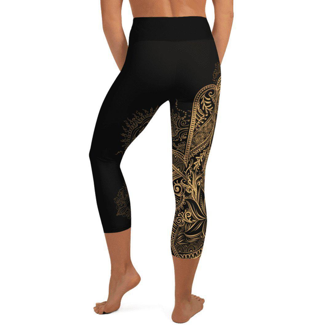 Legging 3/4 - Main de budha-Raise yourself