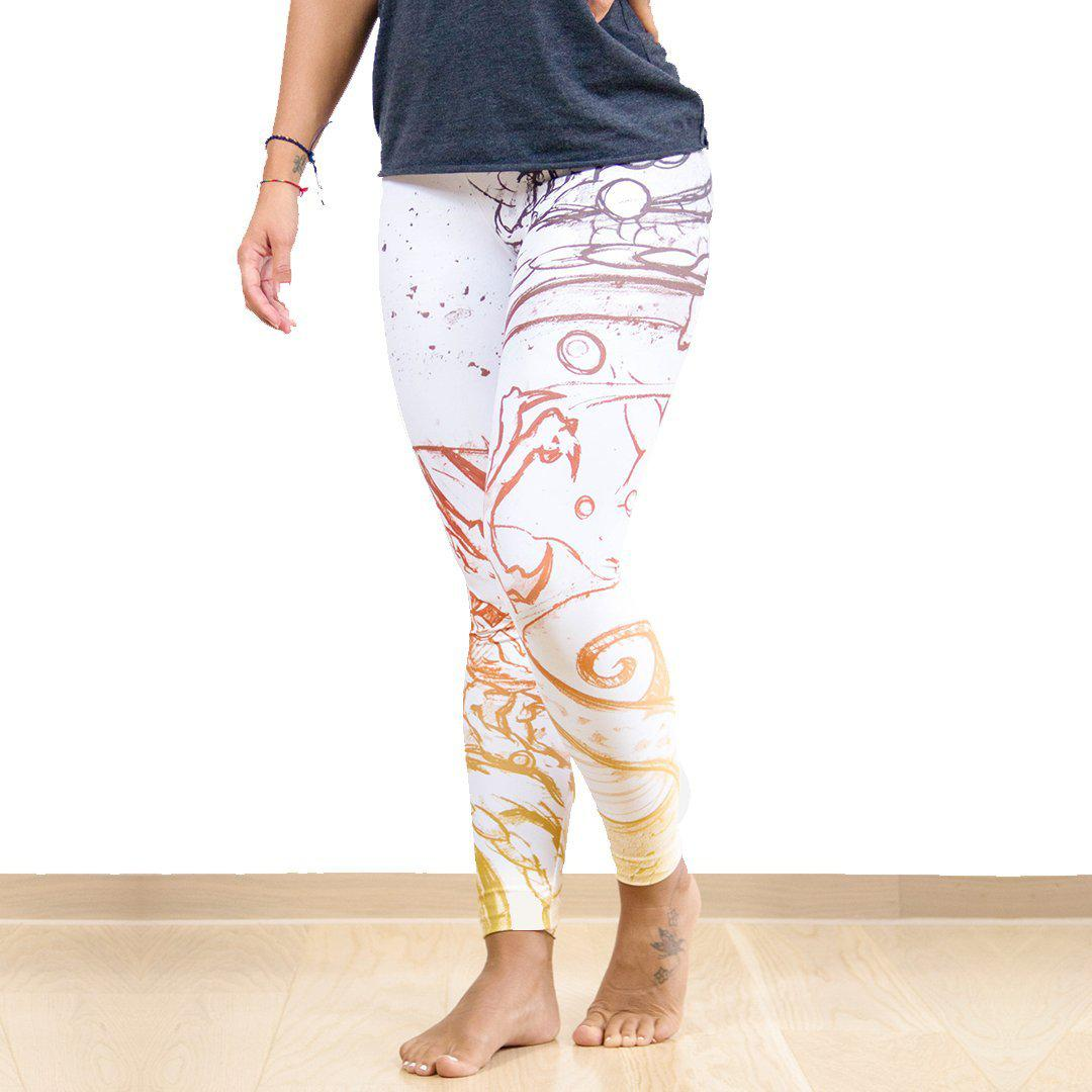Legging - Dragon et arc-en-ciel-Raise yourself