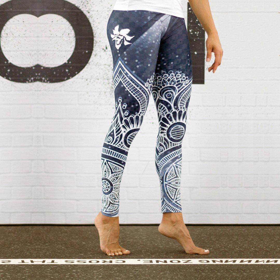 Legging - Flocons de neige-Raise yourself