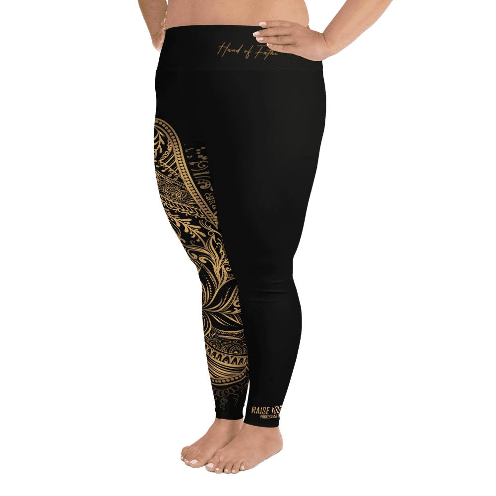 Legging grande taille - La main de budha-Raise yourself