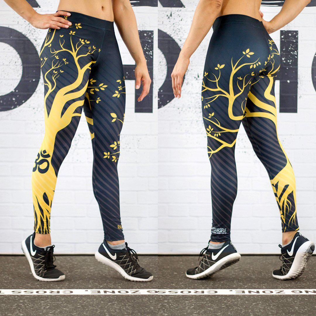 Legging - L'arbre de sagesse-Raise yourself