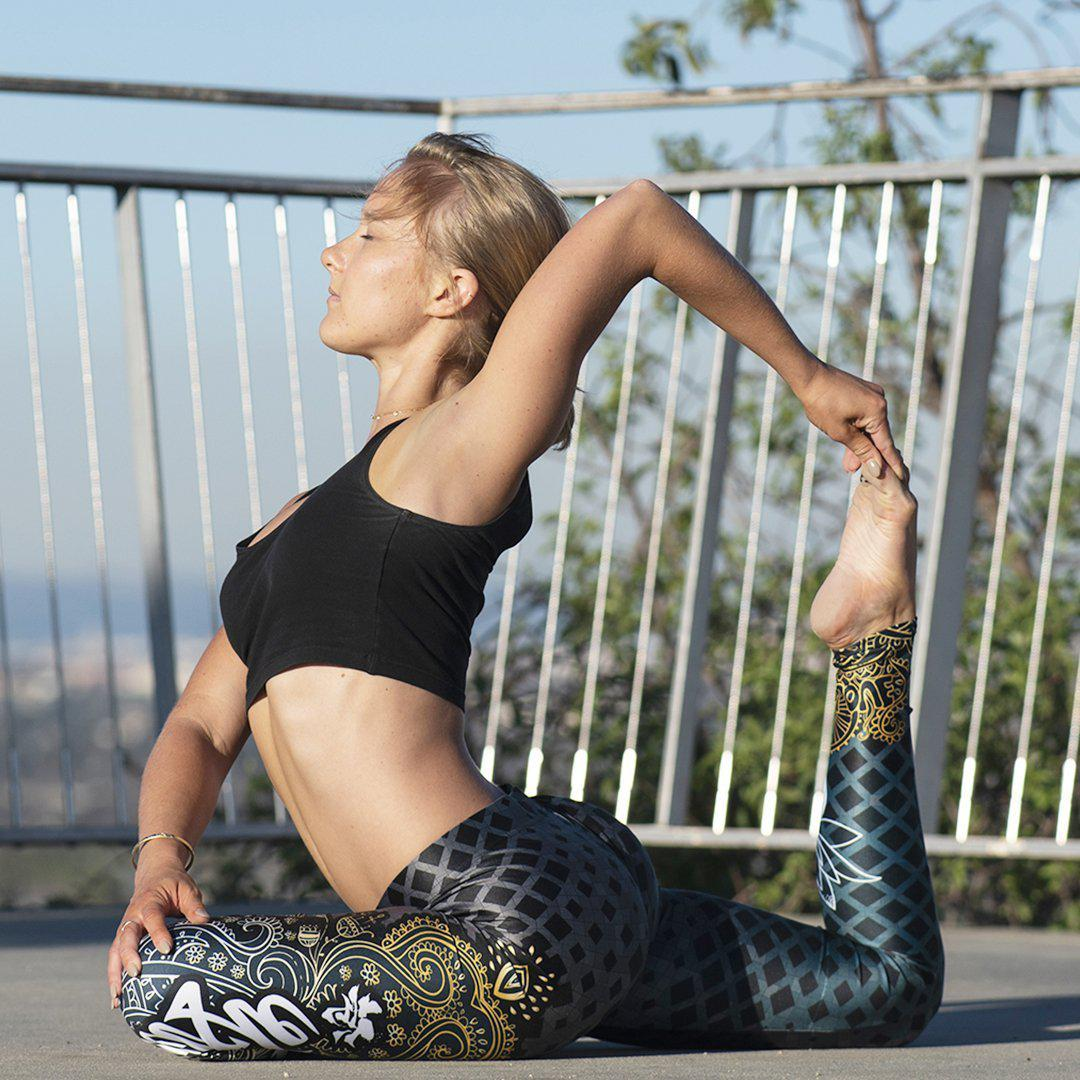 Legging - Namaste-Raise yourself