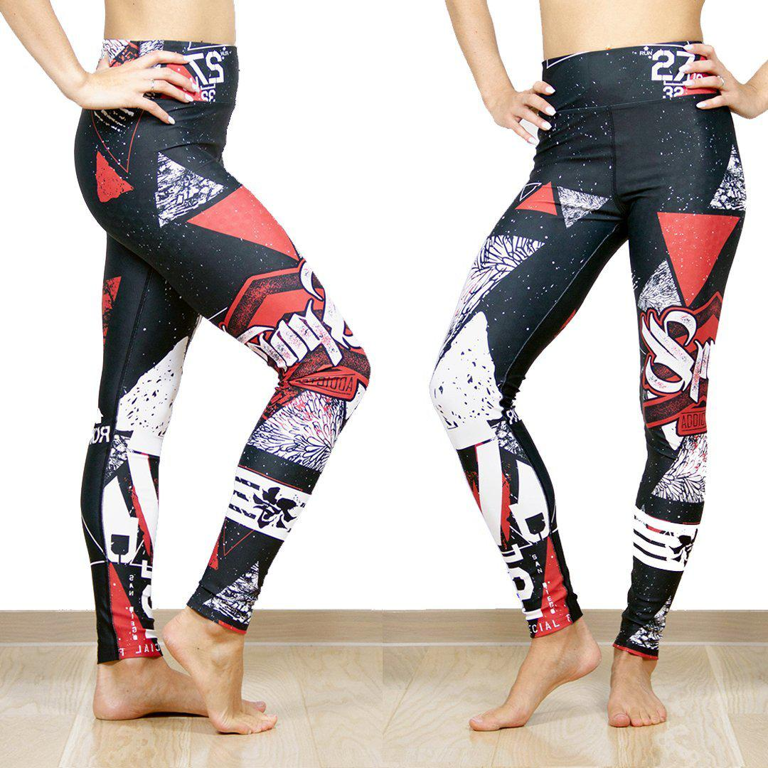 Legging - Sport et asphalte-Raise yourself