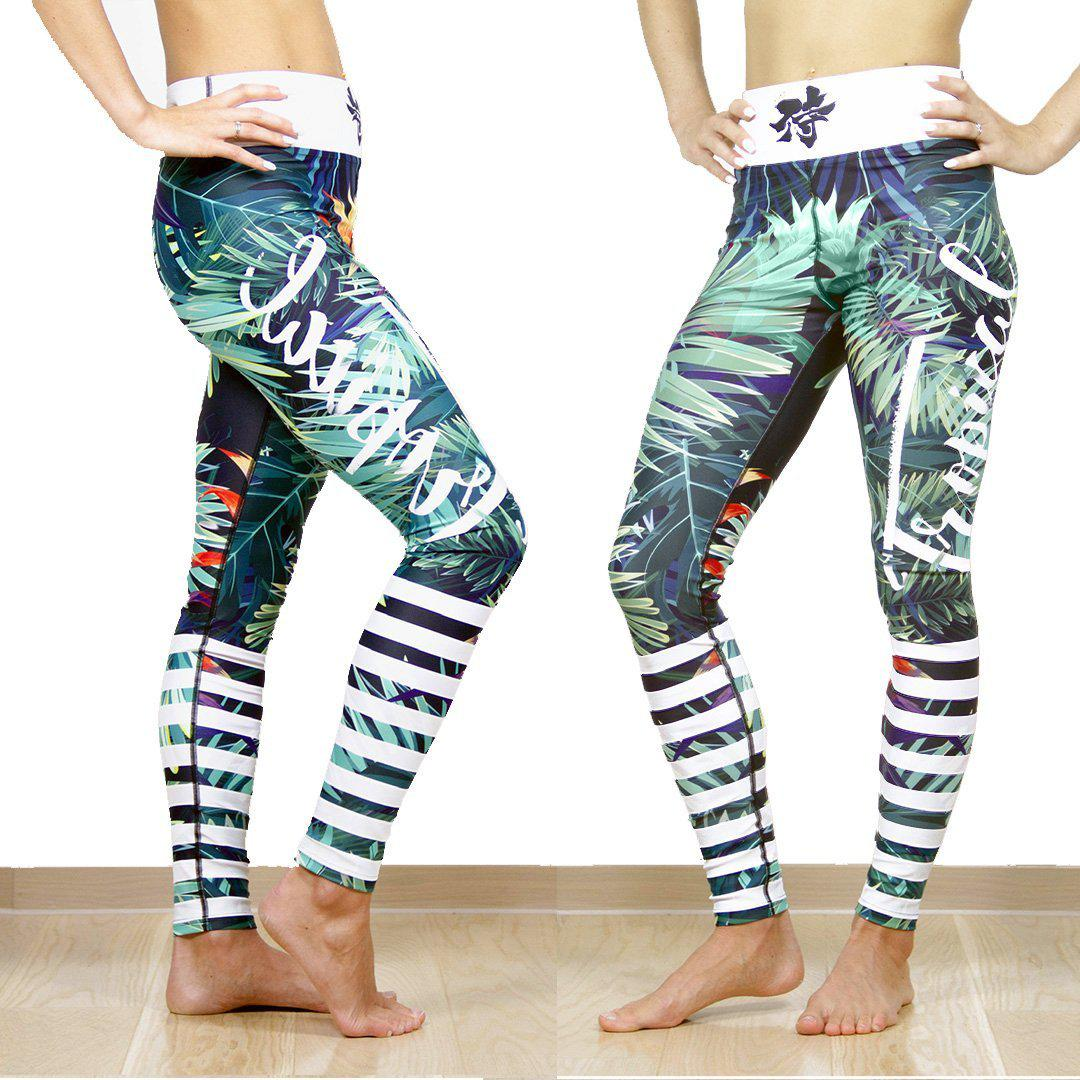 Legging - Tropicalia-Raise yourself