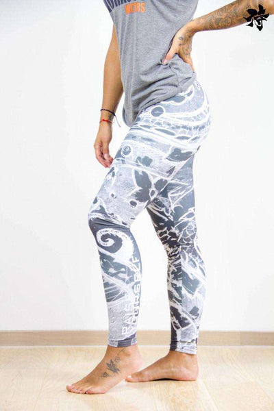 Legging - White storm leggings Raise yourself