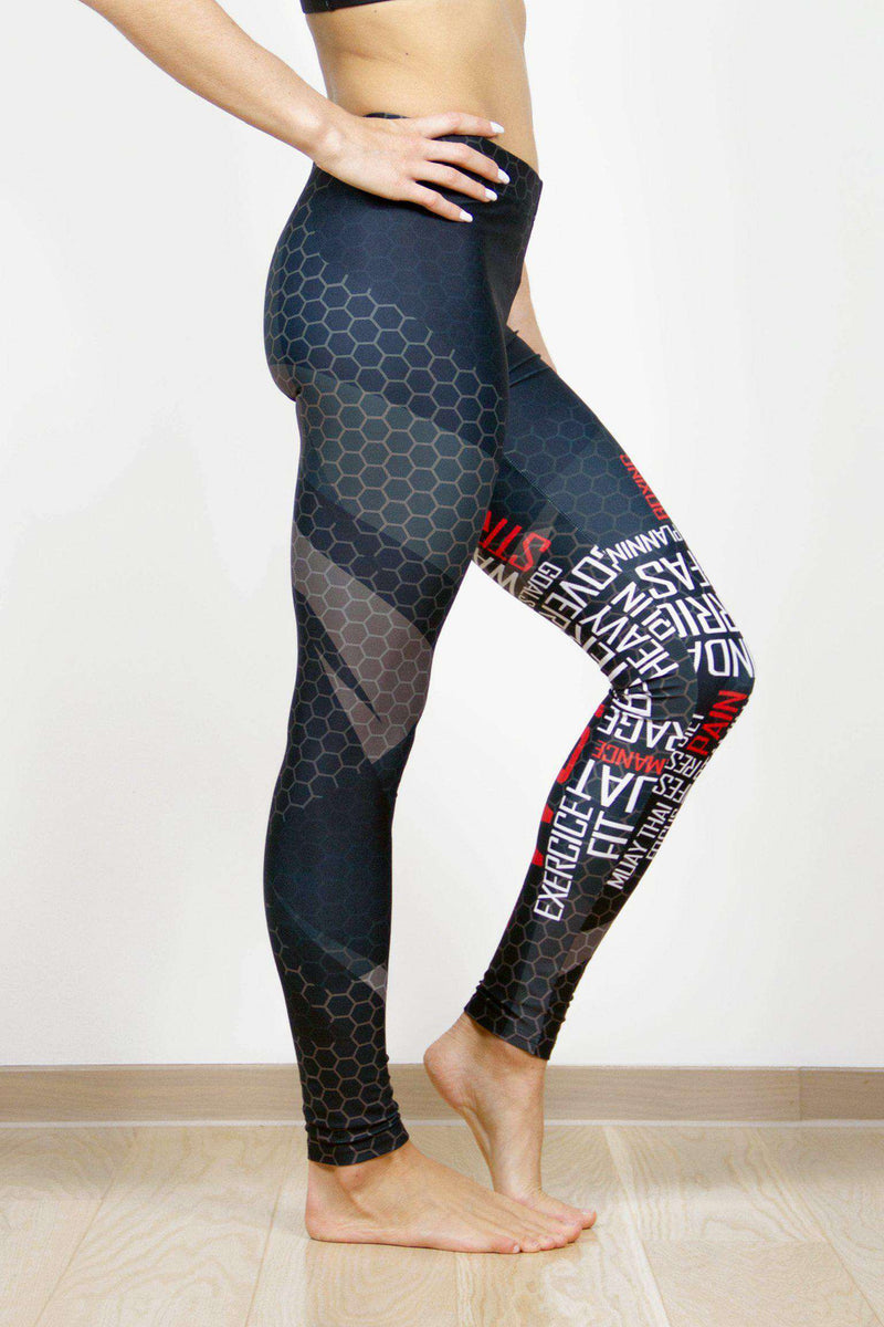 Legging - Vibrations sportives