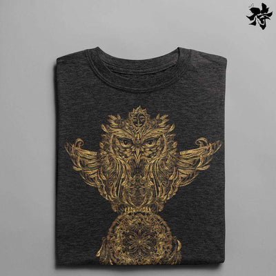 T-shirt - Owls of light T-shirt Raise yourself