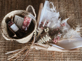 Petite bath and treats basket