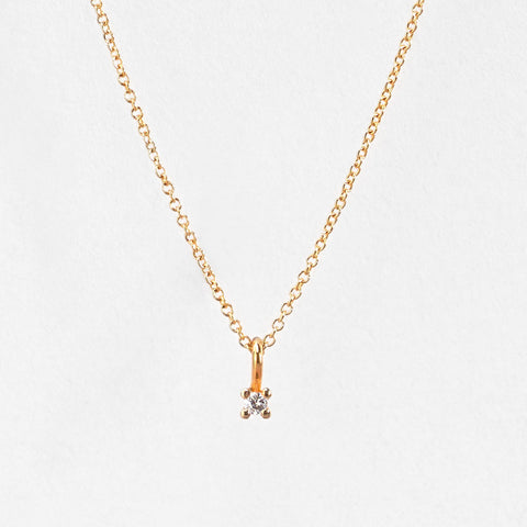 Nil Diamond Necklace 0.2 Carat