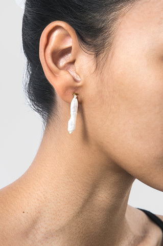 Interwoven Short Earring