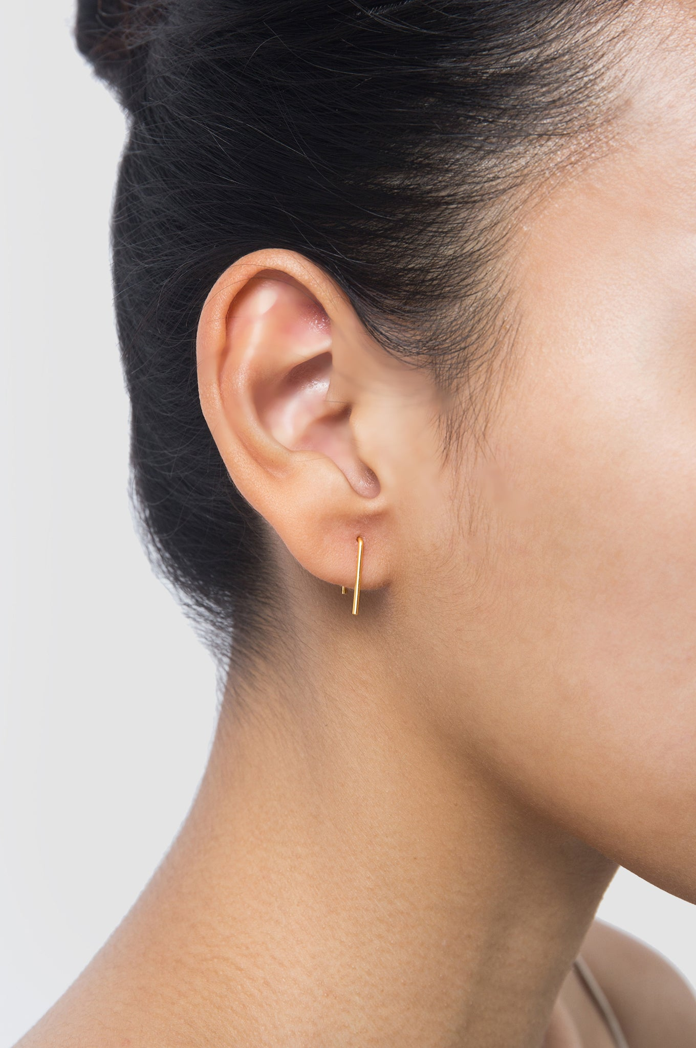 U-Shaped Three Earring