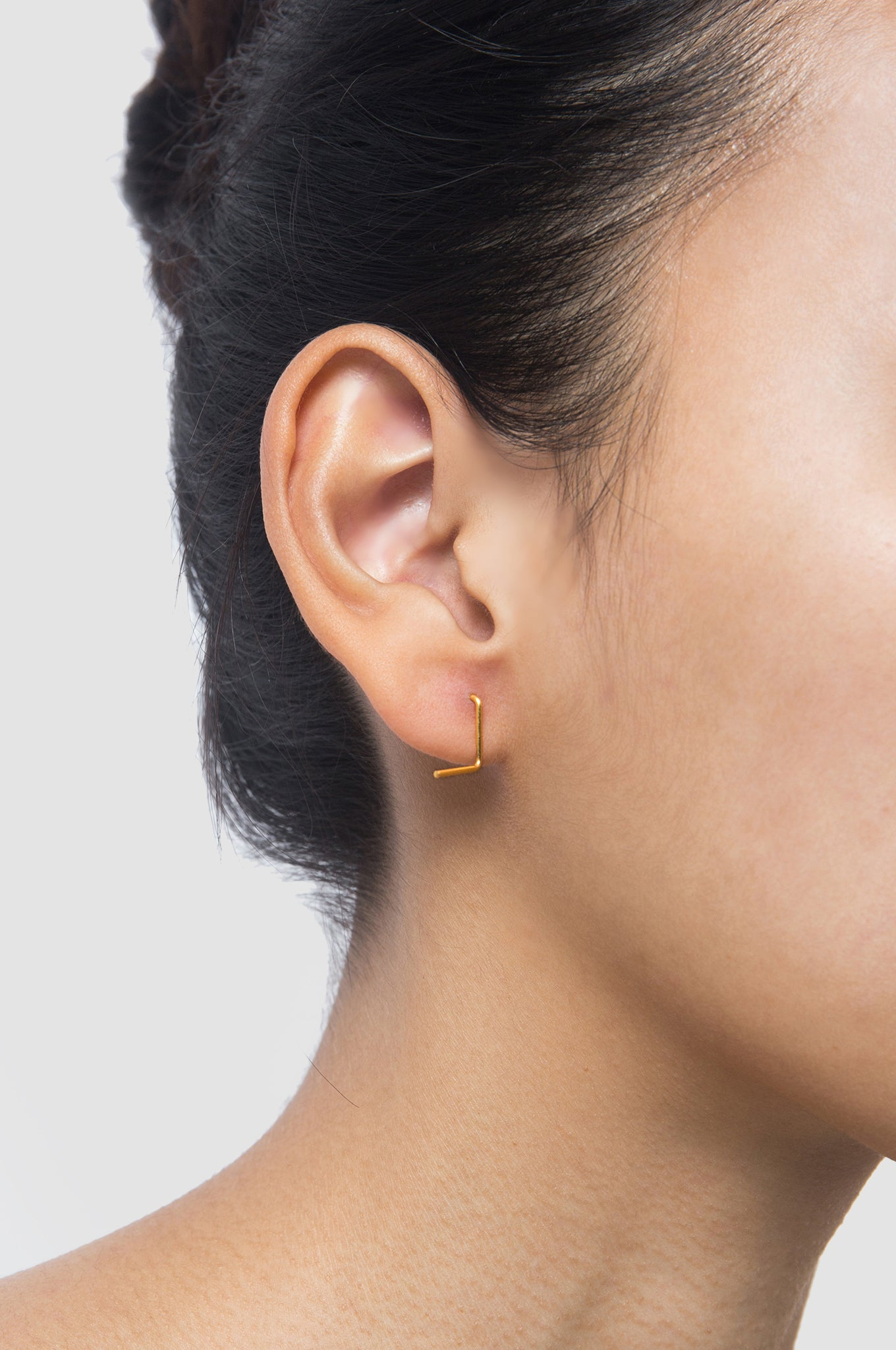 S-Shaped Four Earring