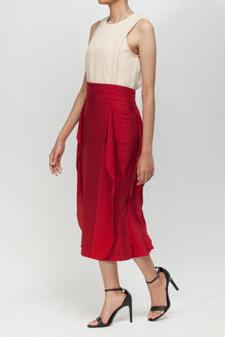 Red Lavi Skirt