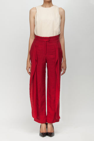 Red Lavi Pants