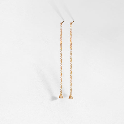 Nil Diamond Drop Earrings
