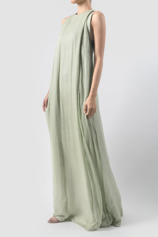 Mint Green Ojas Long Dress
