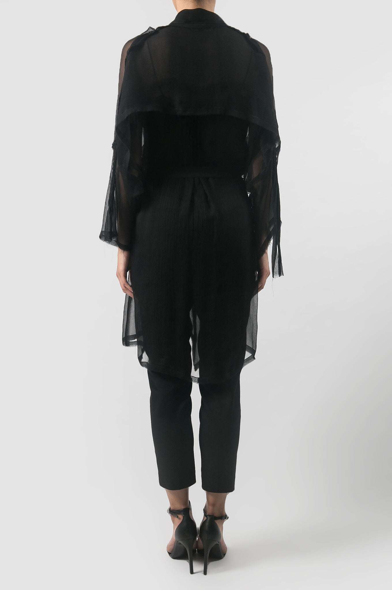 Black Kara Outerwear