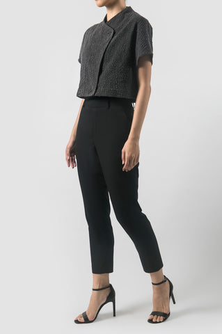 Charcoal Lanna Short Jacket
