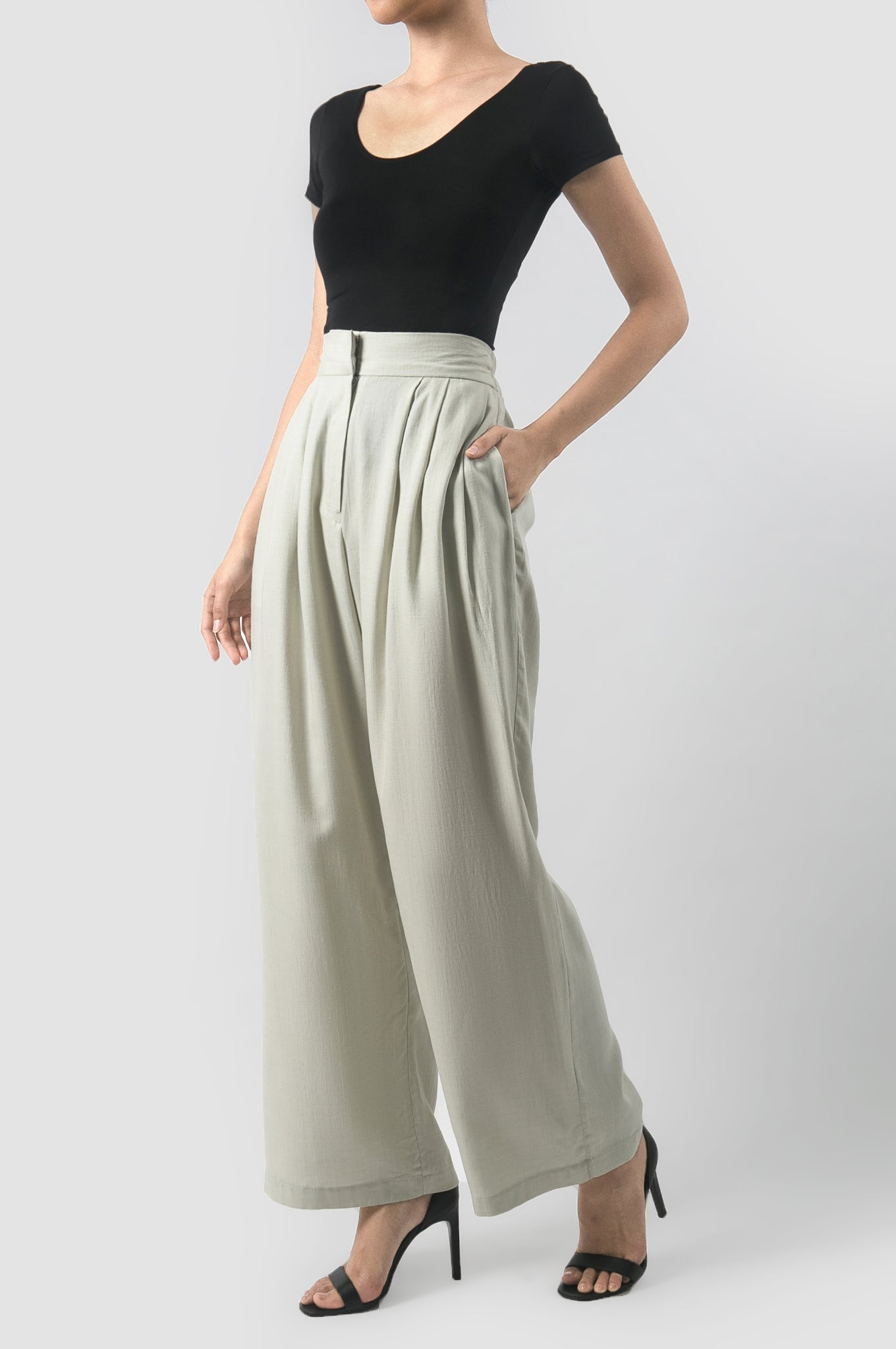 Mint Kavya Summer Pants