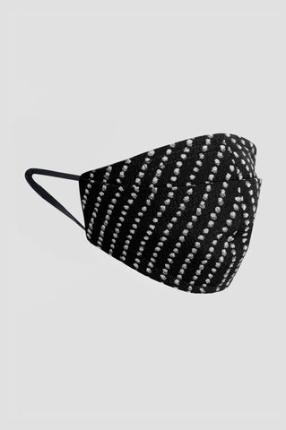Dotted White Careta Mask