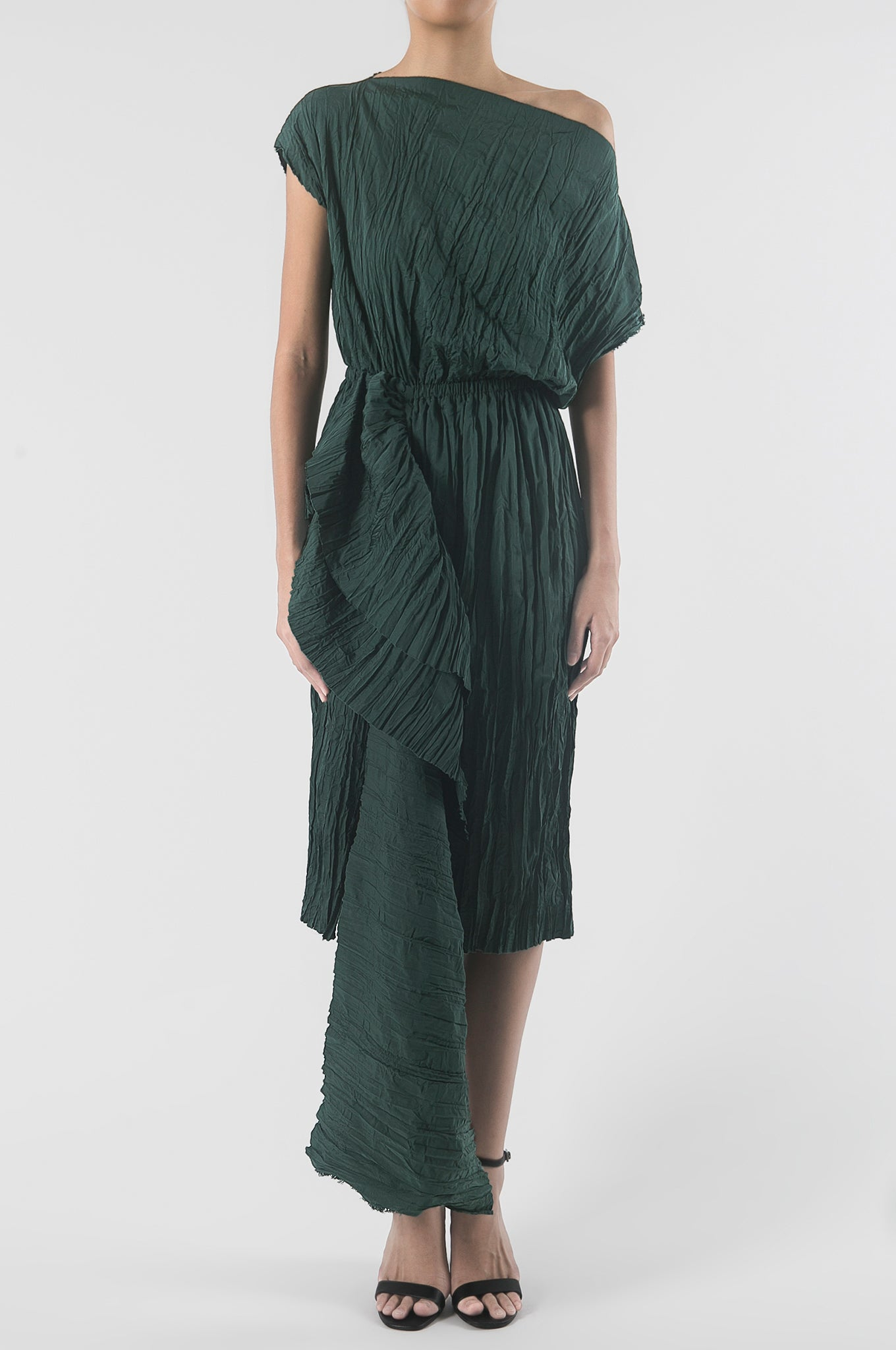 Emerald Green Kakapo Dress