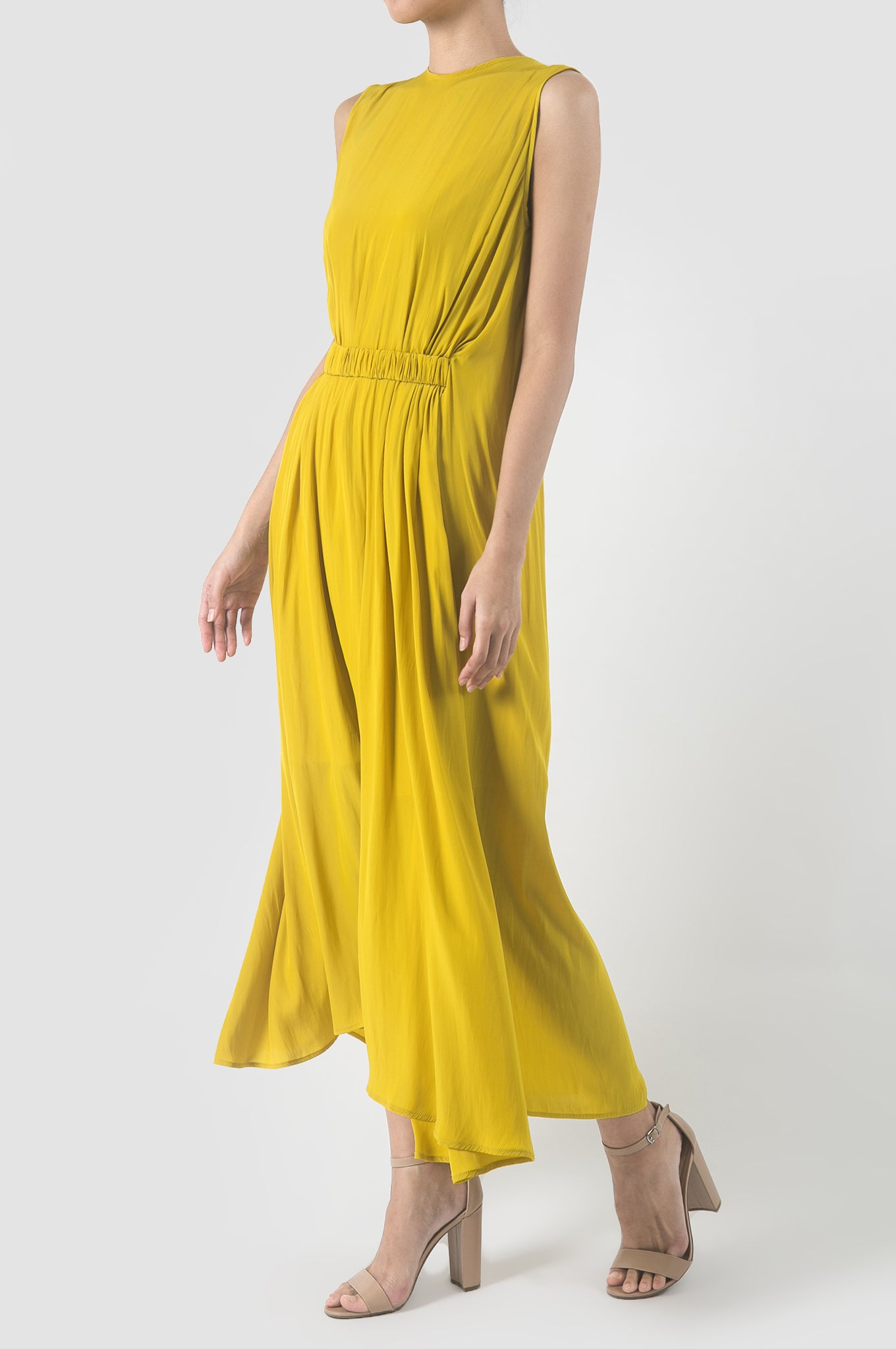Sunflower Yellow Colonia Dress
