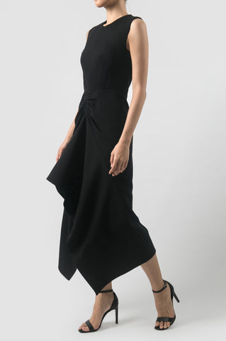 Black Erosion Dress
