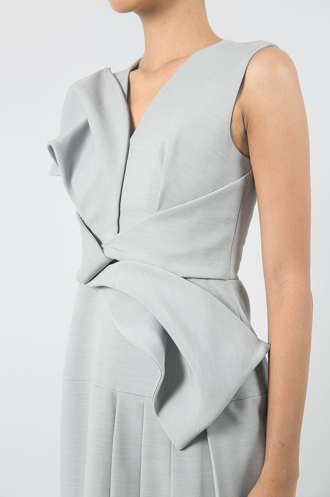 Grey Artifact Dress
