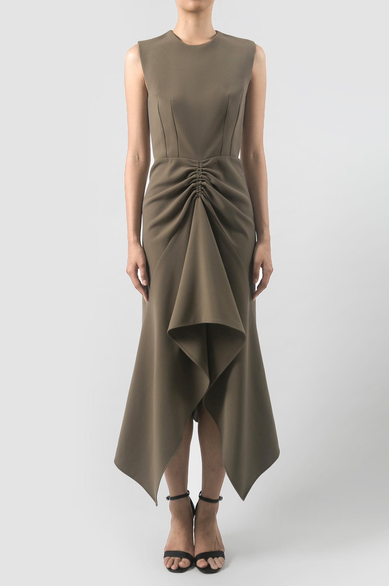 Kelp Green Erosion Dress