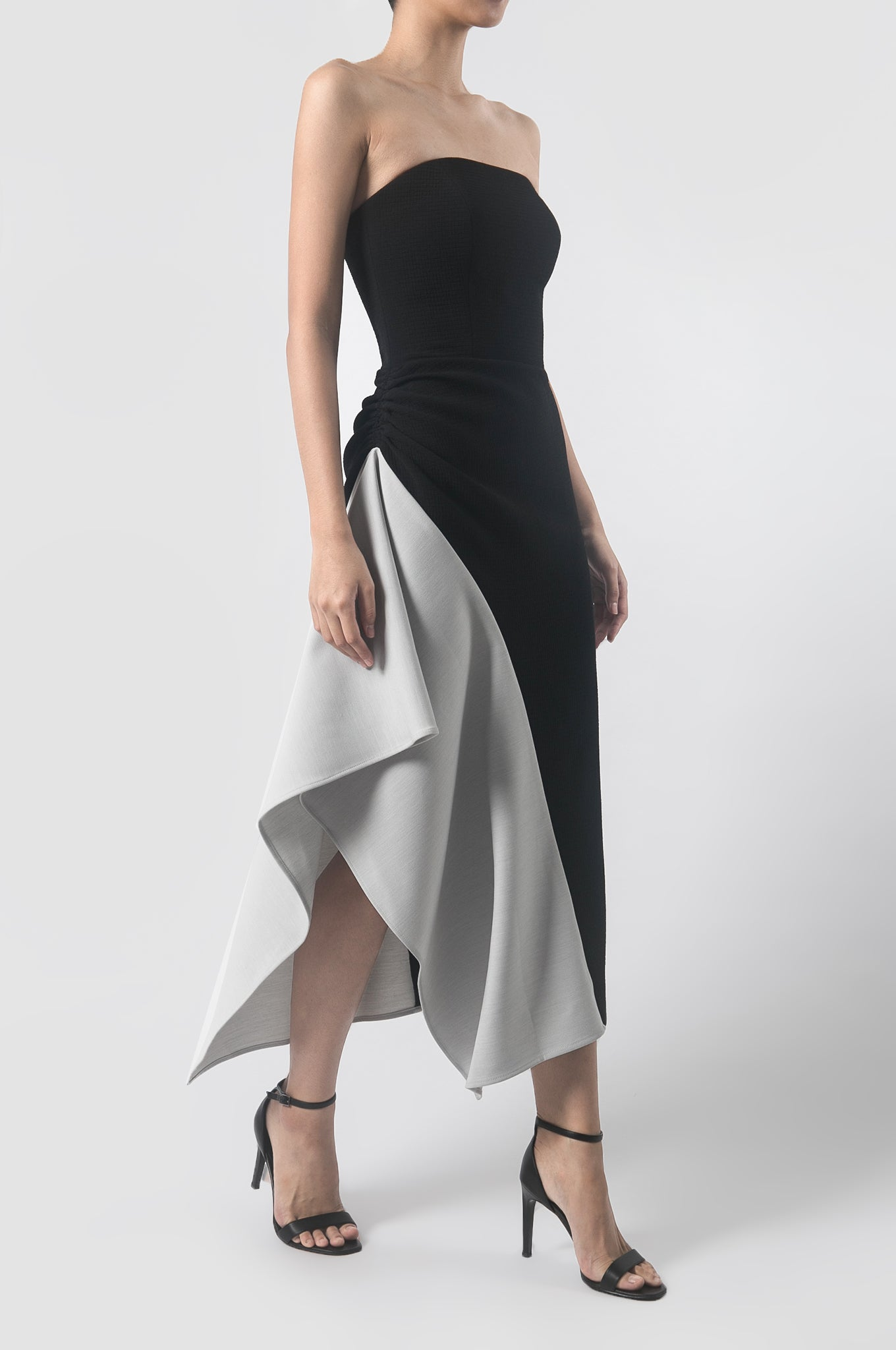 Black/Grey Extinction Dress