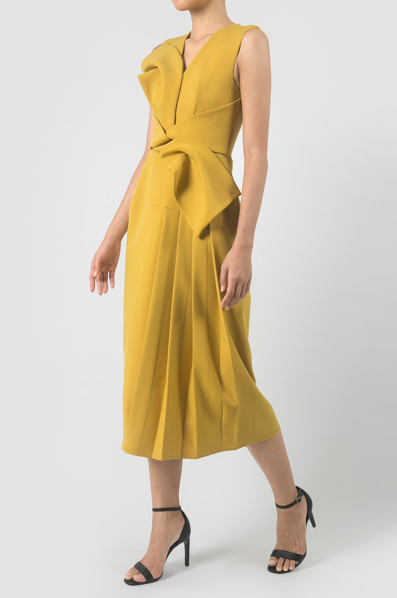 Kumera Yellow Artifact Dress