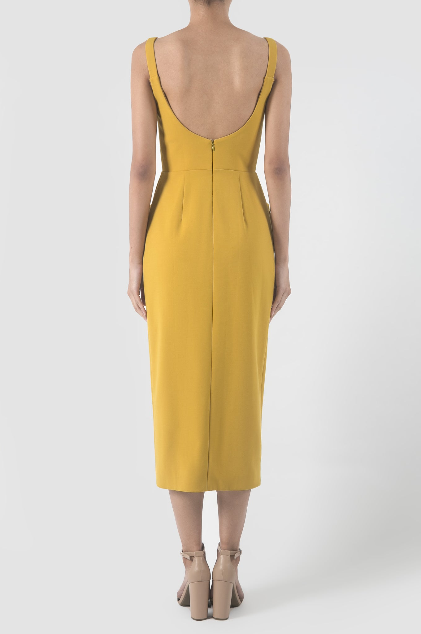 Sunflower Yellow Chicanos Dress