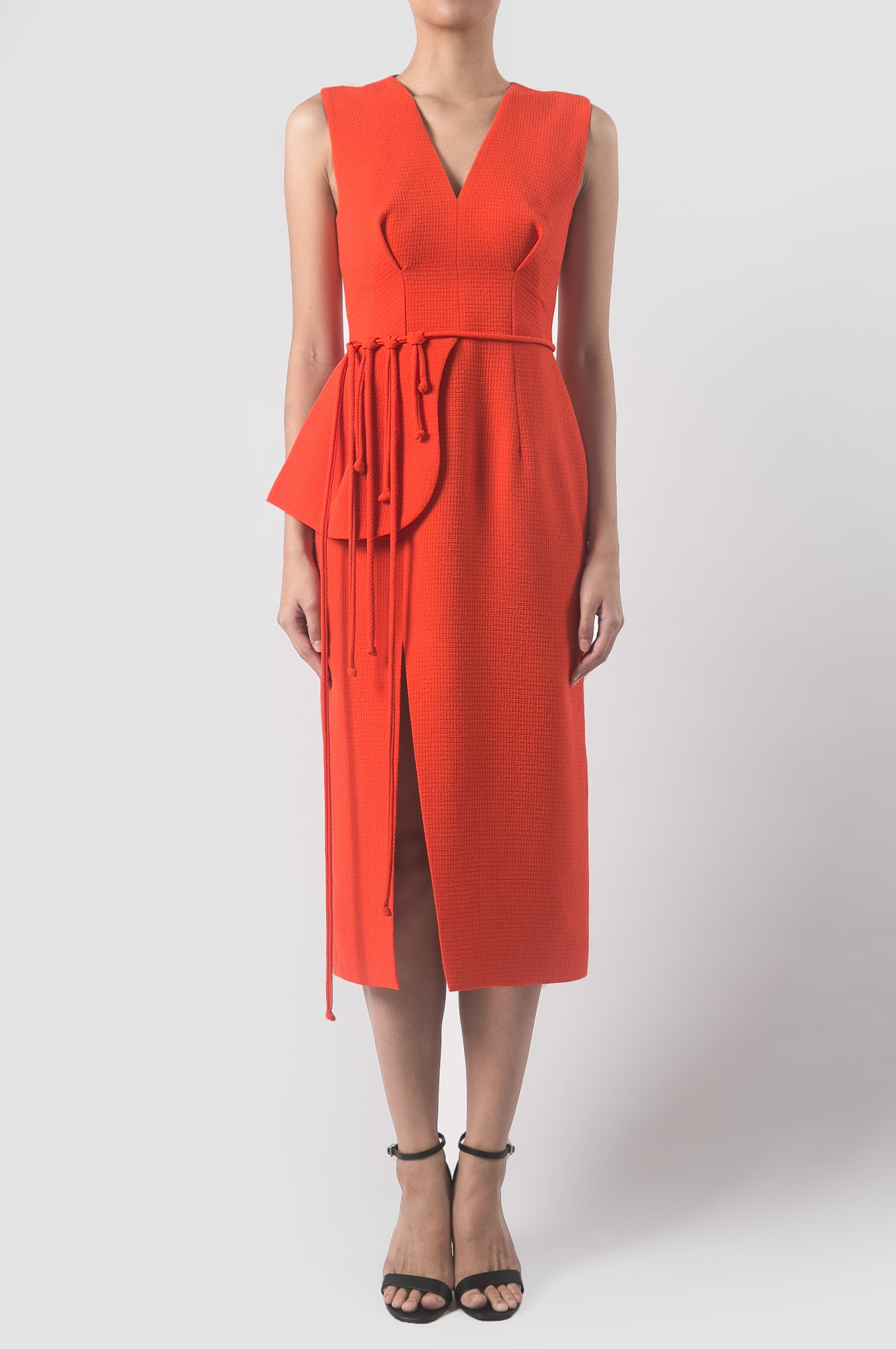 Cumin Orange Resin Dress
