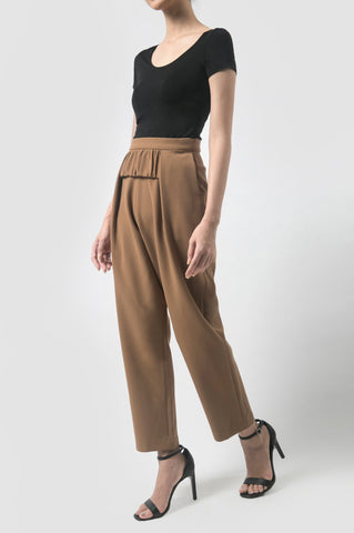 Oak Brown Tissue Pants