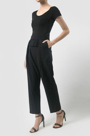 Black Tissue Pants