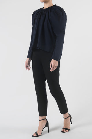 Port Blue Fulang Top